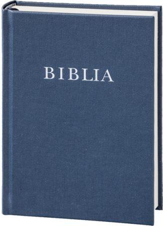 biblia, református, újfordítás, kék
